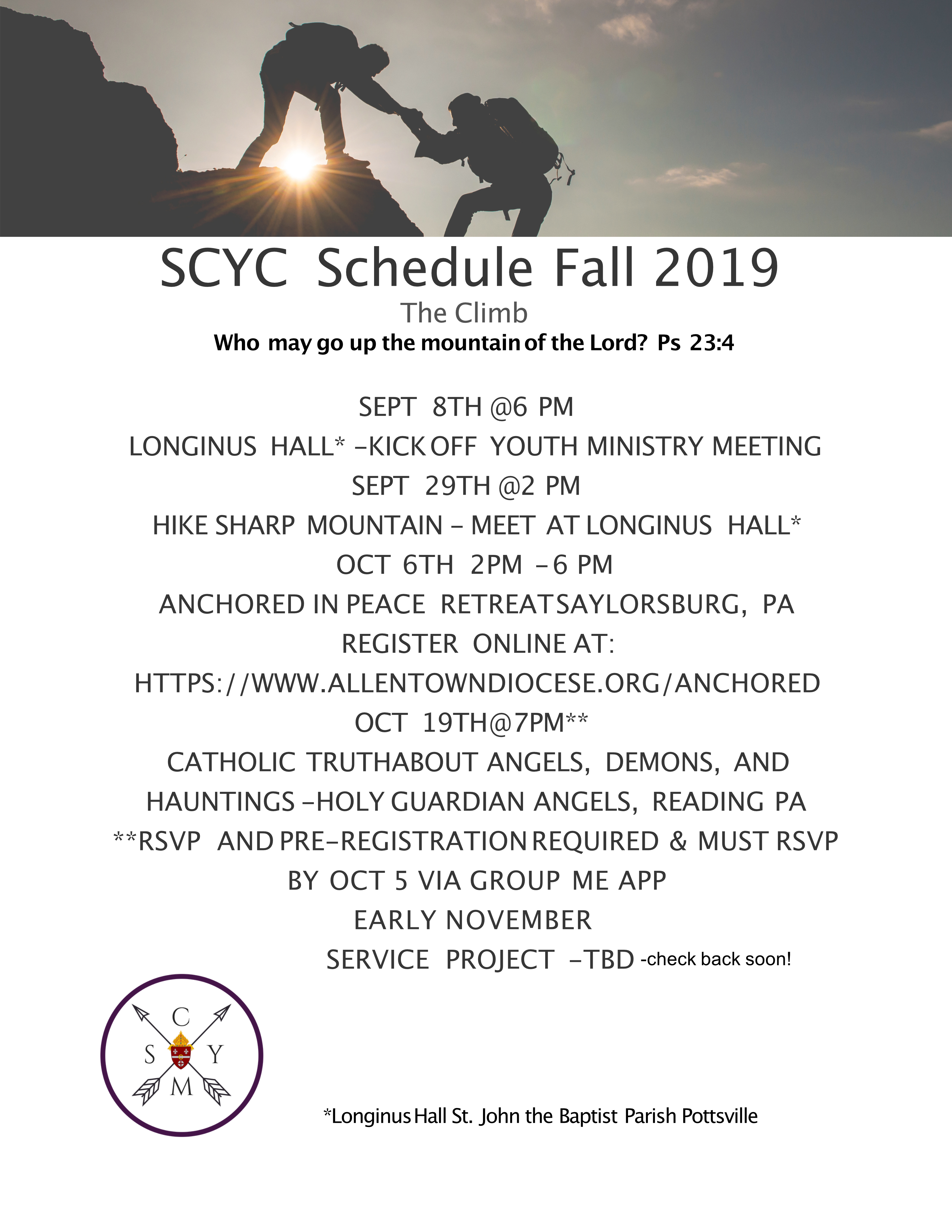YouthMinistryFall201