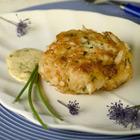crab cakes smaller Lenten Dinners